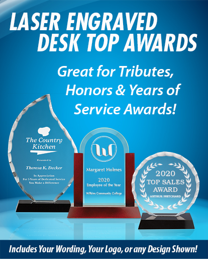 Customized Desktop Awards