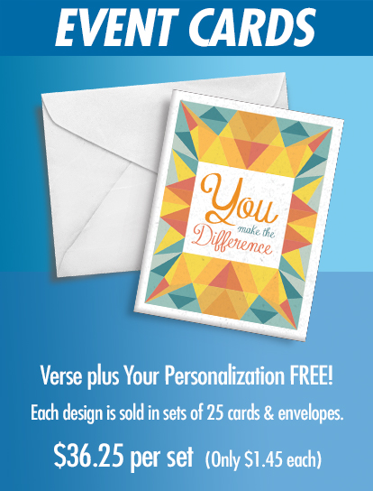 Give Personalized Greeting Cards.