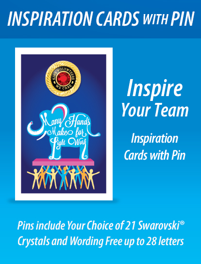 Inspiration Cards with Pin