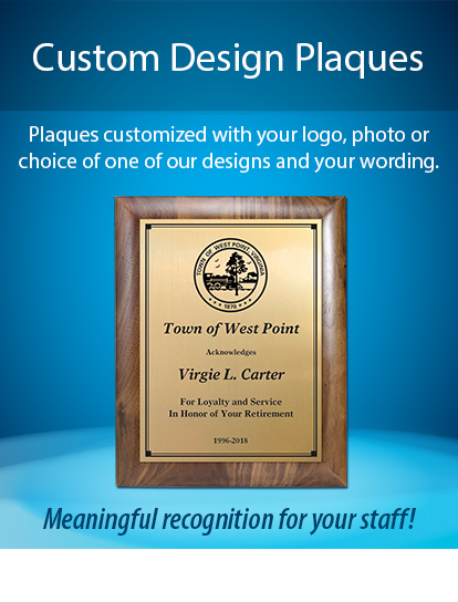 Customized Logo-or-Design Plaques