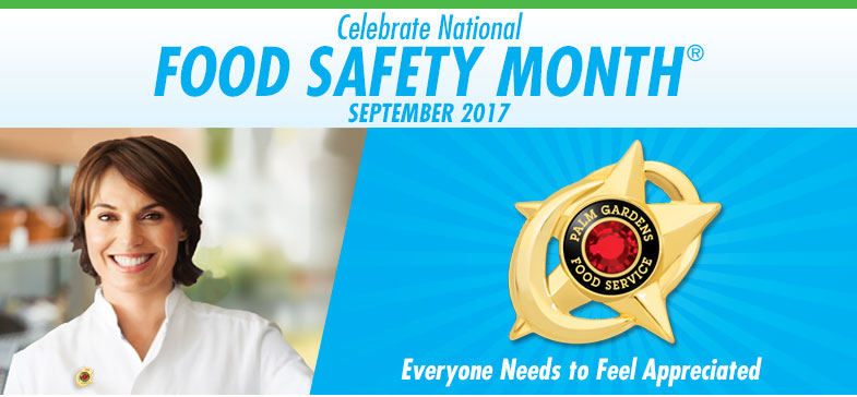 Celebrate National Food Safety Education Month® - September 2016