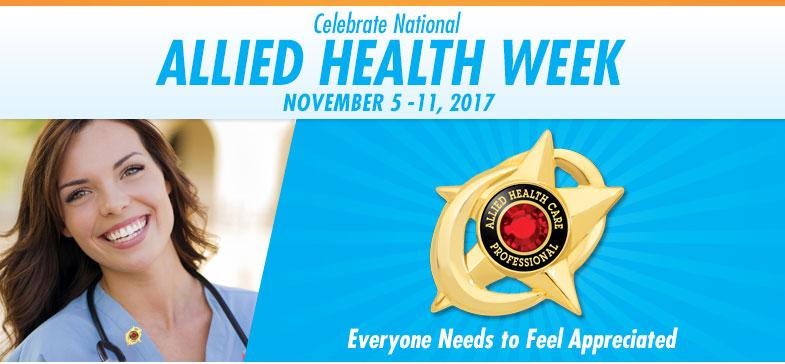 Celebrate National Allied Health Professionals Week - November 6-12, 2016