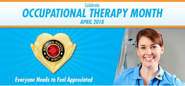 Celebrate Occupational Therapy Month - April 2017