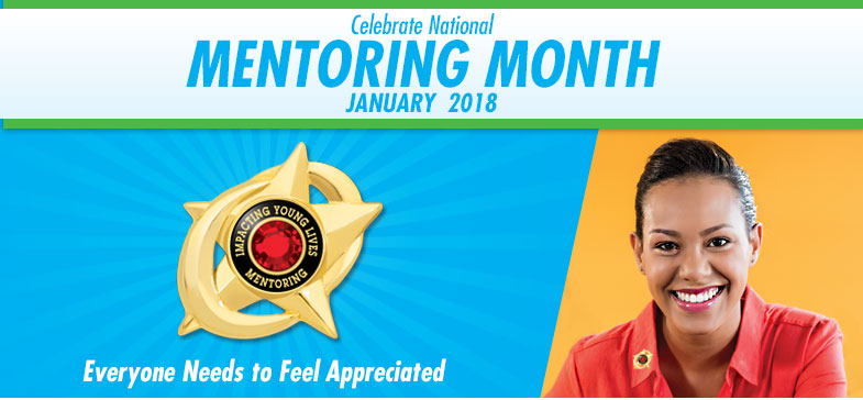 Celebrate National Mentoring Month - January 2017