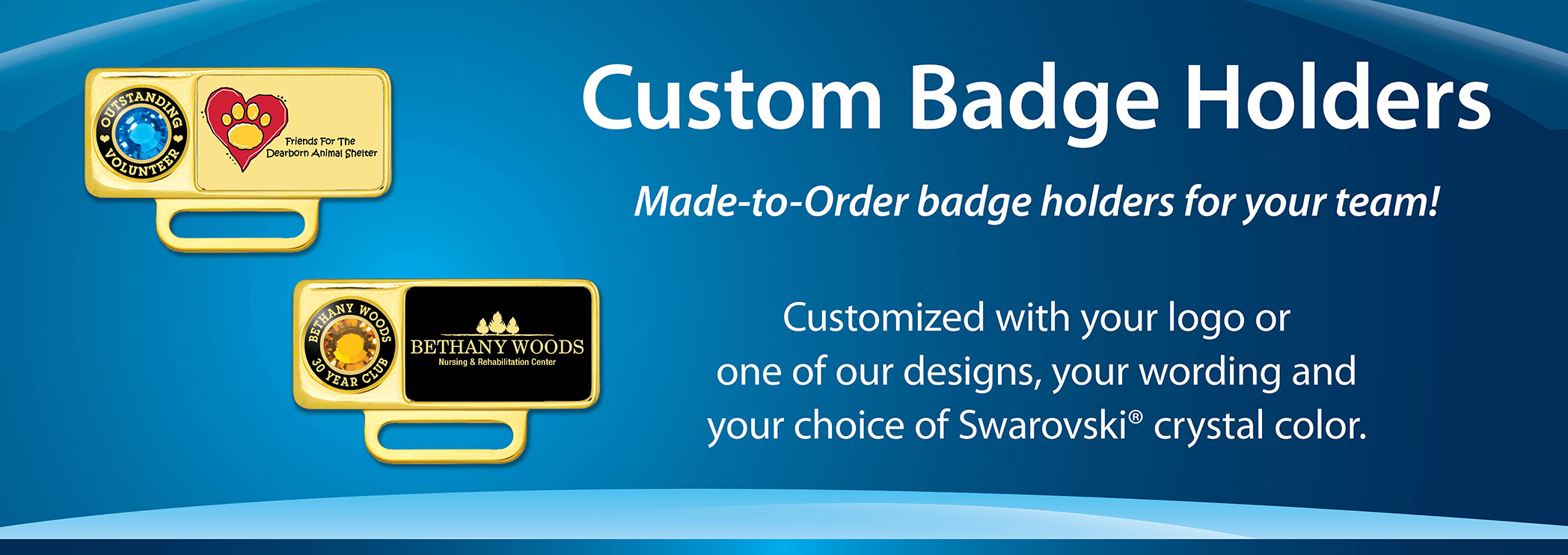 Give customized Badge Pins to your staff