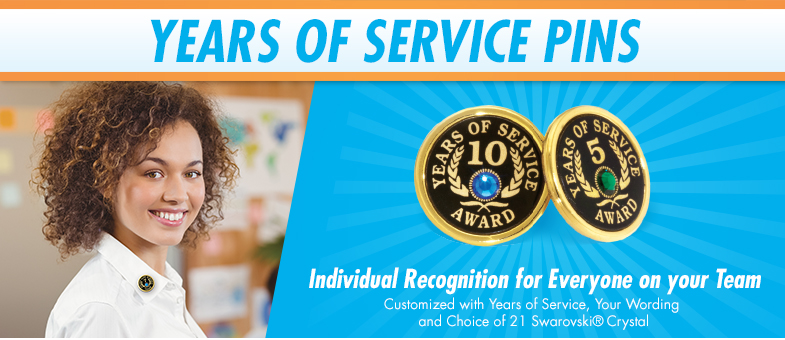 Years of Service Pins - Years of Service!