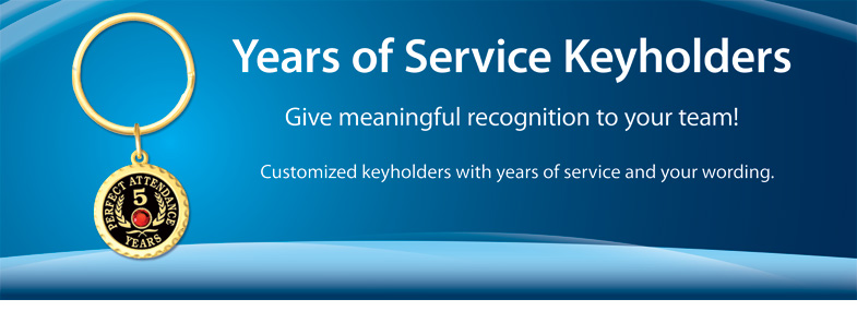 Years of Service Keyholders
